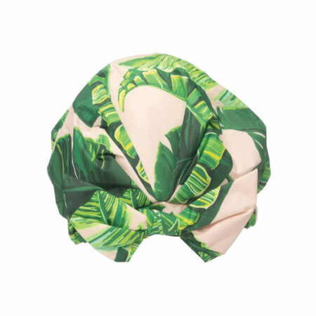 Recycled Polyester Luxe Shower Cap