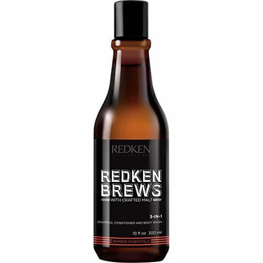 Redken Brews 3-In-1 Shampoo, Conditioner, and Body Wash